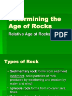 Determining the Age of Rocks.ppt