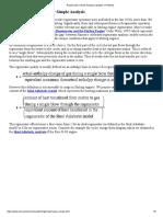 Regenerator Simple Analysis (Updated 1-17-2010)