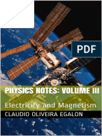 Physics Notes Volume III Electricity and Magnetism
