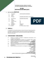 syllabus INVESTIGACION DE MERCADOS FINAL ING. IND..docx