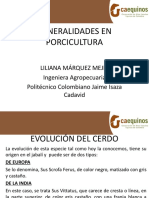 1. Generalidades en Porcicultura