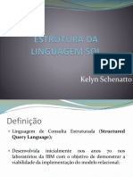 Estrutura SQL e Comandos DDL