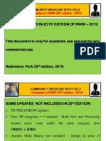 Park 25th Edition Updates