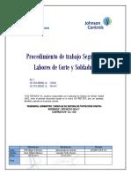 P-HSE-08 PTS Labores de Corte y Soldadura Rev.C