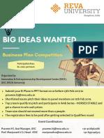B-Plan Poster UIIC