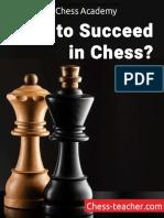 Cómo tener éxito en ajedrez - SMIRNOV