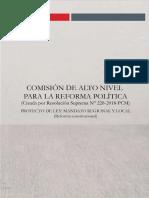 Mandato Regional y Municipal (Constitucional)