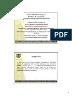 Operaciones Unitarias II  Filtracion