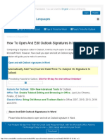 How to Open and Edit Outlook Signatures in Word