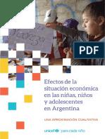 Estudio Efectos Sobre Niños, Niñas y Adolescentes