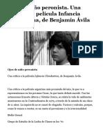 Ojos de niño peronista. Una crítica a la película Infancia Clandestina, de Benjamín Ávila – Novedades