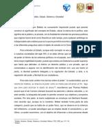 Norberto Bobbio. Estado, Gobierno y Sociedad