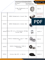 Rodamientos Poleas CNC
