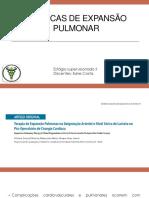 Tecnicas de Expansão Pulmonar