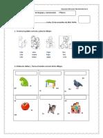 Evaluacion de lenguaje y comunicación 1° BASICO 25 DE NOVIEMBRE.docx