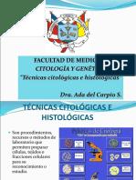 TECNICAS HISTOLOGICAS