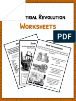 Sample Industrial Revolution Worksheets 1