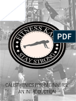 Calisthenics E-BOOK - Fitness Kaur