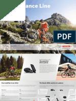 Bosch EBike Performance Line Guide Brochure 2016