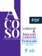 Cartilla Acoso Laboral y Acoso Sexual Laboral
