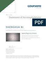 Coursera appliedregression 2015