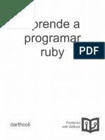 aplicaciones con ruby | Ruby (Lenguaje de programación