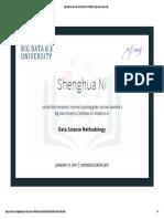 Data Science Methodology(New Certificate)