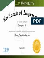 Moving Data Into Hadoop