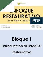 I Módulo Enfoque-Círculos Restaurativos