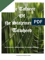 Tafseer Kalimatu Tawheed - Shaykh Rabee Ibn Haadee Al-Madkhalee
