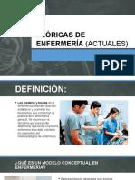 Teóricas de Enfermería (Actuales)