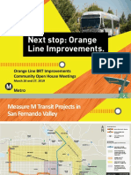 Orange Line Improvements Project presentation