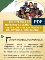 La Ley 1178 Gestion Municipal Final