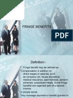 Fringe Benefits Hrm