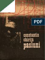 Constantin Chirita Pasiuni