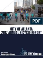 Atlanta 2017 Annual Bicycle Report