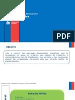Procedimiento de Contratacion LICITACION PUBLICA