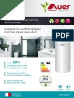 Boilers Thermodynamiques AUER Edel-Air