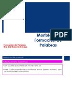 Morfología Formación de Palabras y Otros procedimientos.ppt