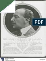 Grandmontagne, Francisco, Belisario Roldán en España, en Plus Ultra 78, 1922