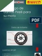 Catalogo de Llantas Pirelli Para Moto