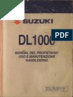 SUZUKI DL1000- Manual EsaěnŢol