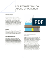 Improved Oil Recovery By Low Shear Handling of Injection Polymers
