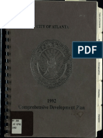 City of Atlanta - Comprehensive Development Plan - 1992