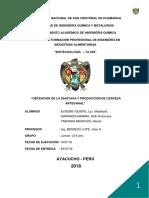 """Obtencion de La Diastasa y Produccion de Cerveza Artesanal"""""""