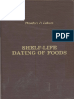 Shelf-life dating of foods