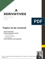 9. Plasma Derivatives 2019