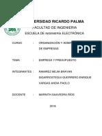 EMPRESA Y PRESUPUESTO RAMIREZ.docx