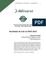 Novidades da Colt No SHOT Show 2019