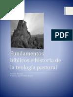 Fundamentos bíblicos e historia de la teología pastoral.docx